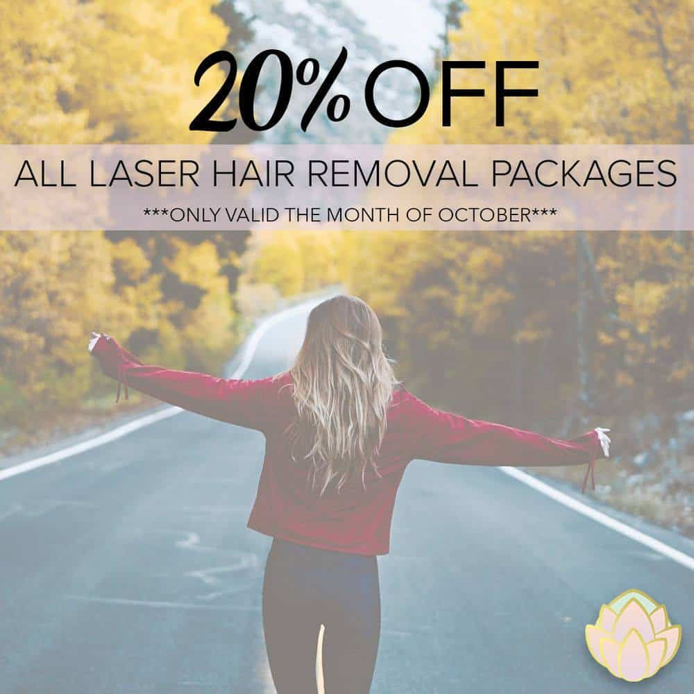 Laser Hair Removal Promotion Elegance Sculpting in Parksville Vancouver
